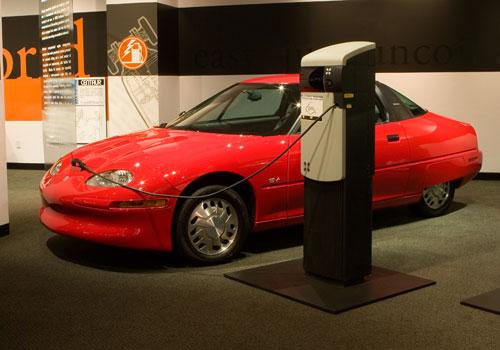 L'EV1, première voiture tout électrique de série