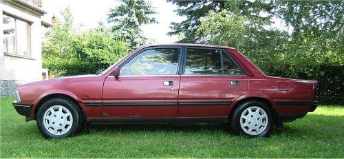 C'est sur les anciennes voitures que l'on distingue le mieux les trois volumes