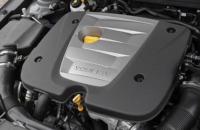 Bloc VCDi sous le capot d'une Chevrolet Cruze