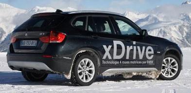 Avec une BMW xDrive, la neige n'est plus un cauchemar !