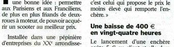 article du Parisien sur Kidioui